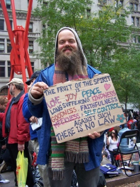 A Picture I took when I went to Occupy Wall Street