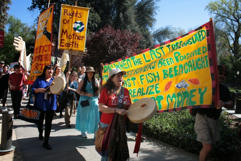 Anti-Fracking Rally, Sacramento, March 15